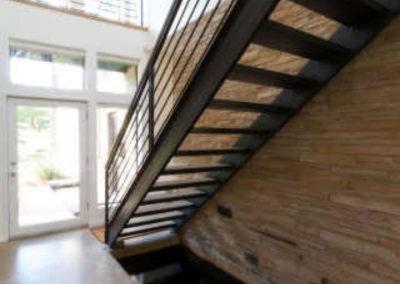 Stairs/Koi Pond